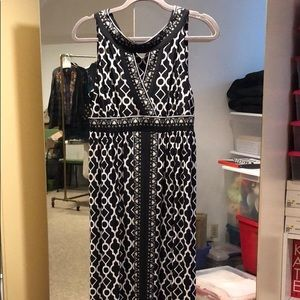 NWT INC maxi dress size large